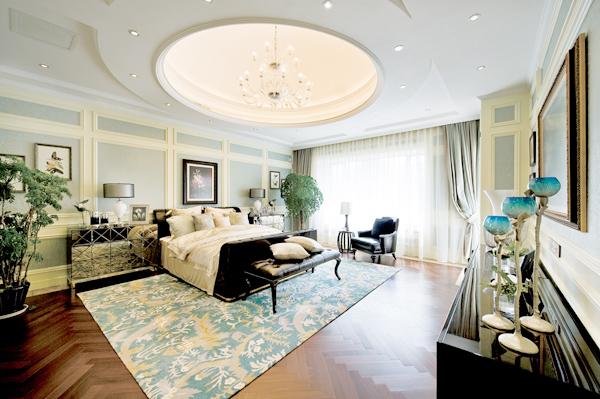 美式整体家具-护墙板线条图片