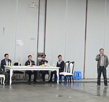 陈总发言-浩冠家具消防演习