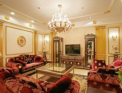 宫廷式客厅