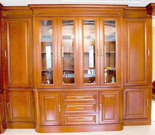 坤庭整体书柜·中式风格
