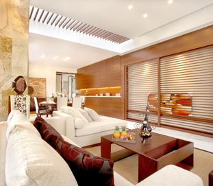 中式整体家具-木饰面护墙板
