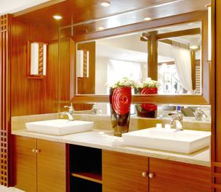 中式整体家具-台盆柜