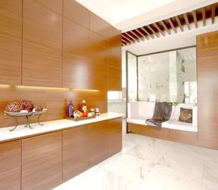 中式整体家具-衣柜