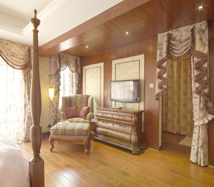 美式经典-木饰面护墙板