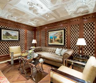 美式整体家具-护墙板线条