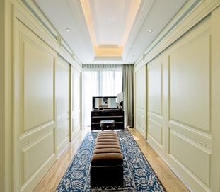 美式整体家具-整体衣帽间木饰面