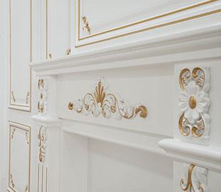 浩冠--描金护墙板