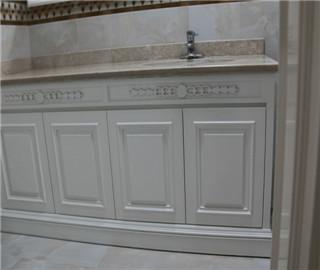 混水漆-造型台盆柜