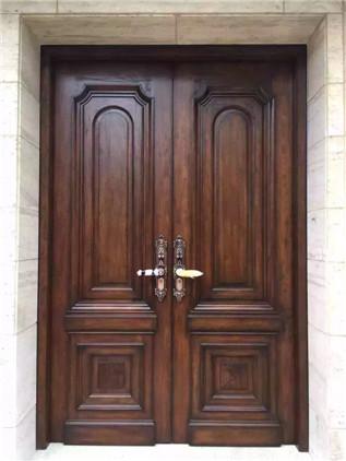 美式做旧-双开门