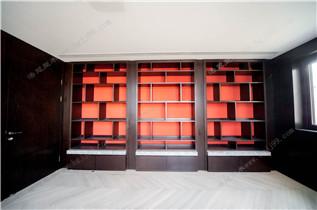 中式风格-开架书柜